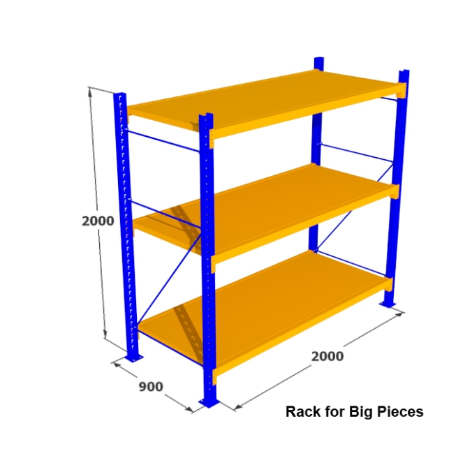 Rack for Big Pieces