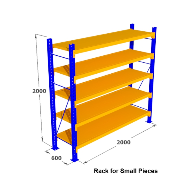 rack for small pieces
